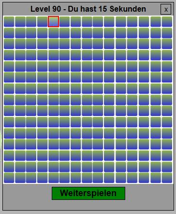 Übersicht des Spielfeldes von SpotIt
