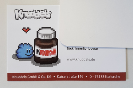 Die offizielle Visitenkarte von Innerlichboese.