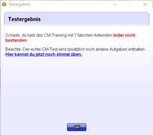 CM-Training